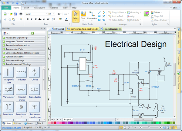 Home Wiring Design Software