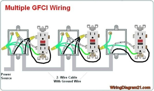 Wiring Gfci With Multiple Outlets