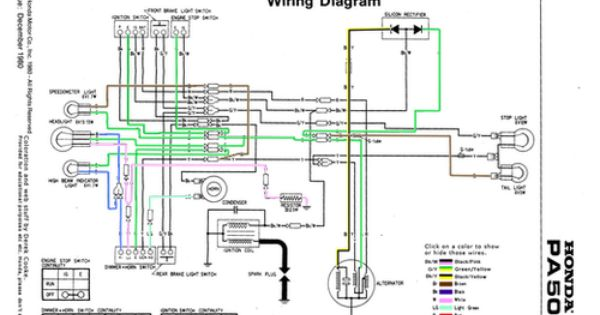 Honda Hobbit Wiring Diagram  Electrical Circuit  Electrical Wiring