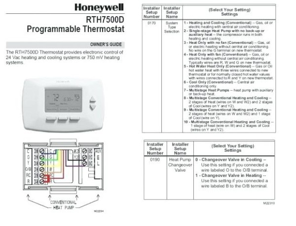 Honeywell Non Programmable Thermostat Troubleshooting Non