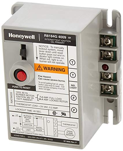 Honeywell R8184g4009 International Oil Burner Control