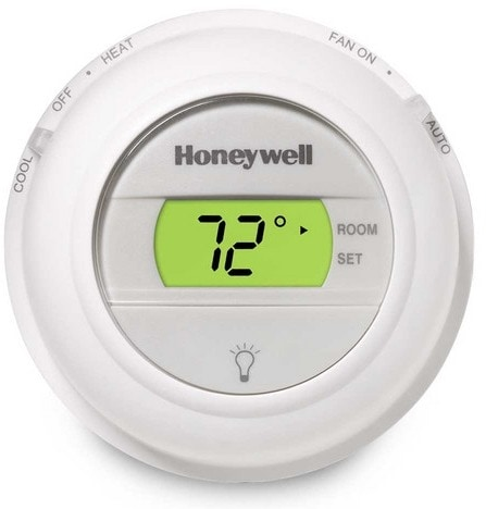 Honeywell T8775 Digital Round Thermostat, Thermostat Installation