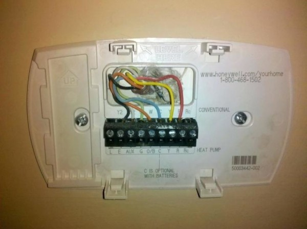 Honeywell Thermostat Heat Pump Wiring