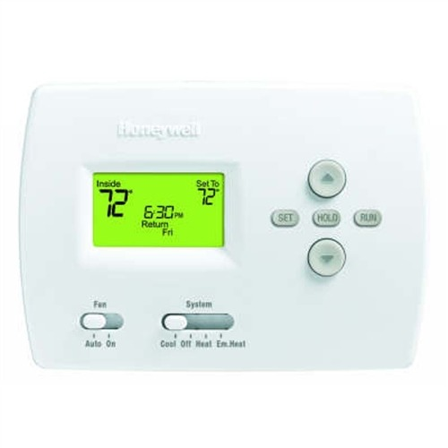 Honeywell Thermostat Straight Cool Only Programmable 1h 1c