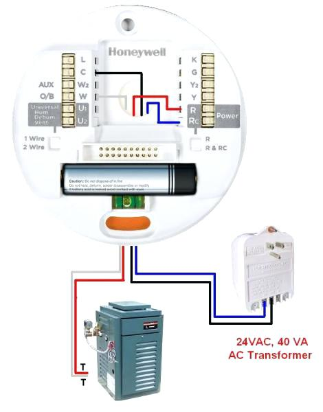 Honeywell Thermostat Without C Wire By Manual Elegant How To