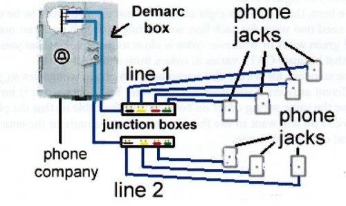 House Phone Line Wiring Diagram