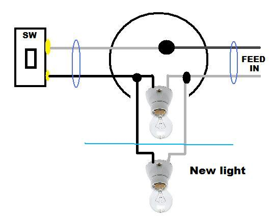 How To Add Light Fixture To Existing Circuit