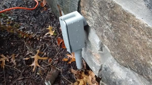 How To Convert This Outdoor Junction Box Into An Outlet