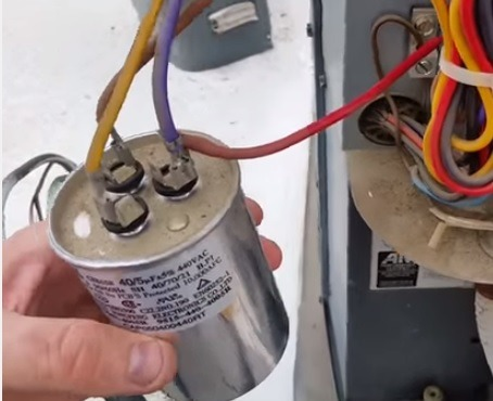 How To Go From A Dual Capacitor To A Single In A Air Conditioner