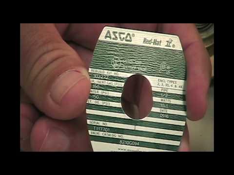 How To Identify An Asco Solenoid Valve