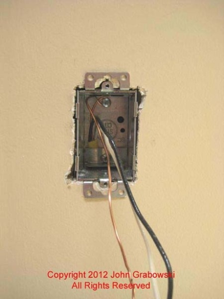 How To Install Outlet Box In Drywall