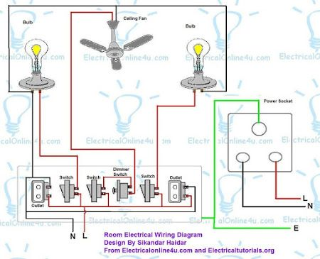 how_to_wire_a_room_in_house_2  Pole Amp Contactor Wiring Diagram on double pole switch, twist lock receptacle, 208v twist lock, safety switch, car lift, bus fuse power, 125 250 volt plug, 125 volt plug, relay switch, 110-volt plug, 208 twist lock, 220v plug, rv electrical, dryer outlet, auto relay,
