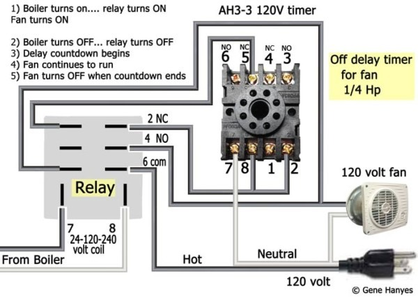How To Wire A Timer Relay