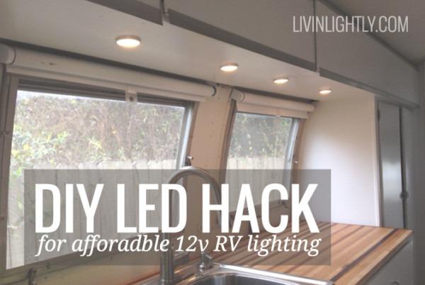 Ikea Led Hack For Affordable 12v Rv Lighting