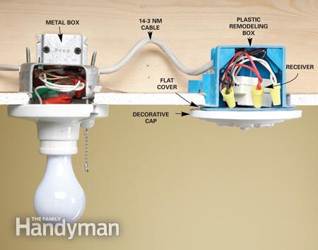 Install A Wireless Light Switch
