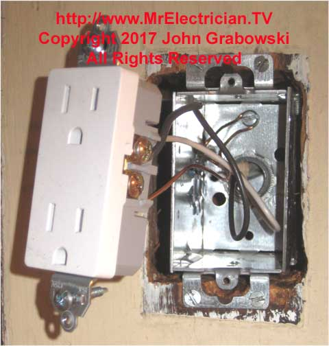 Install An Electrical Receptacle Outlet In An Existing Wall