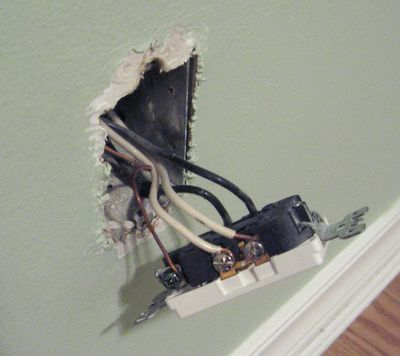 Installing An Electrical Socket