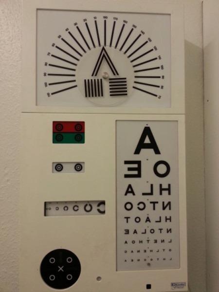 Keeler Wireless Eye Testing Chart, Multi Function