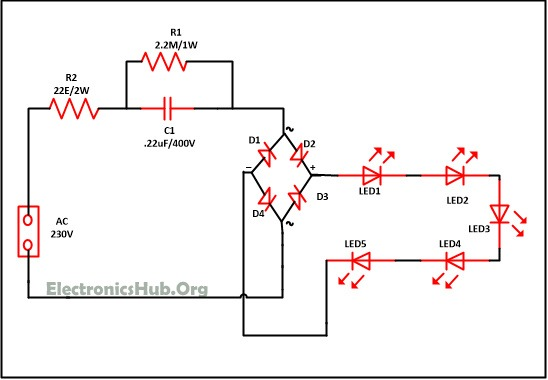 Led Lights Circuits Pdf