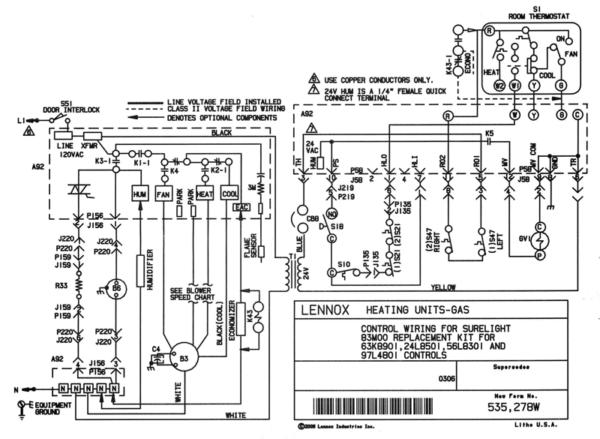 Lennox Wiring Diagrams Wiring Diagram Specialties