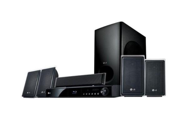 Lg Lhb535  1000 Watt 5 Disc Dvd Player Xm® Home Theater System