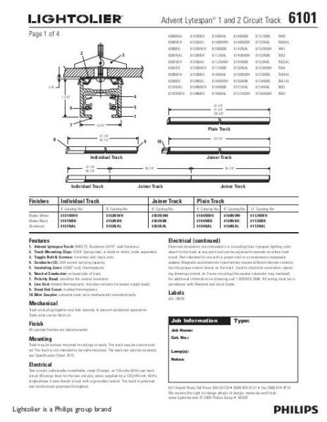 Lightolier Easyset Dimmer Wiring Diagram