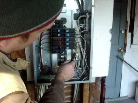 Looking Inside A Breaker Box  What's Right And What's Wrong