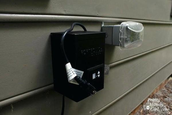 Low Voltage Garden Light Transformer Watt Stainless Steel Low