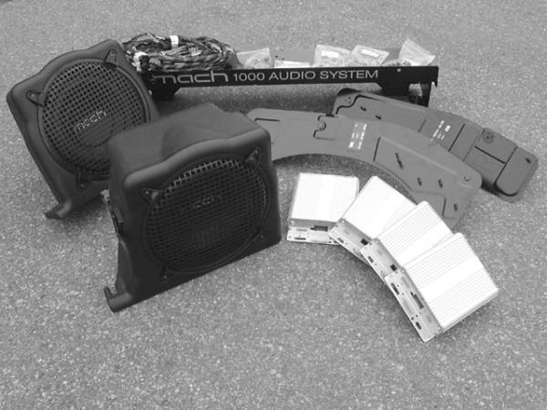 Mach 1000 Audio System Install