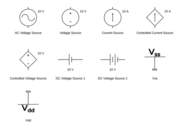 Symbols For Wiring Diagrams