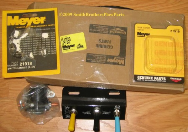 Meyer Plow Toggle Switch Control Package E