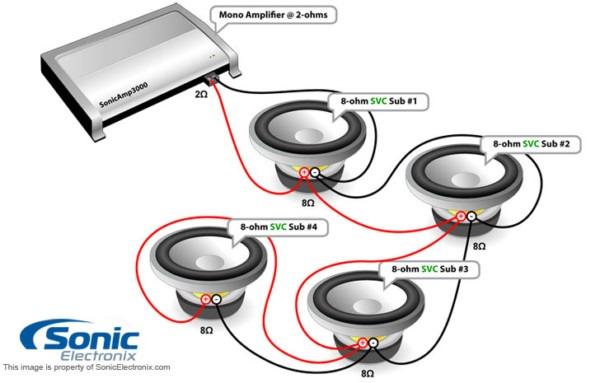 Amp Wire Diagram