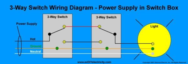 3 Way Switch Internal Diagram