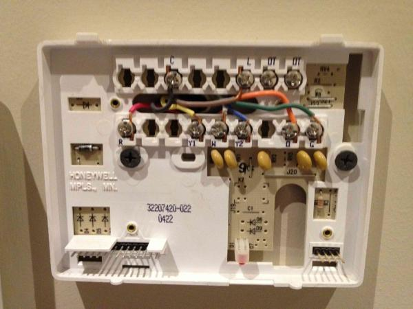 Nest Wiring Question (l Wire)
