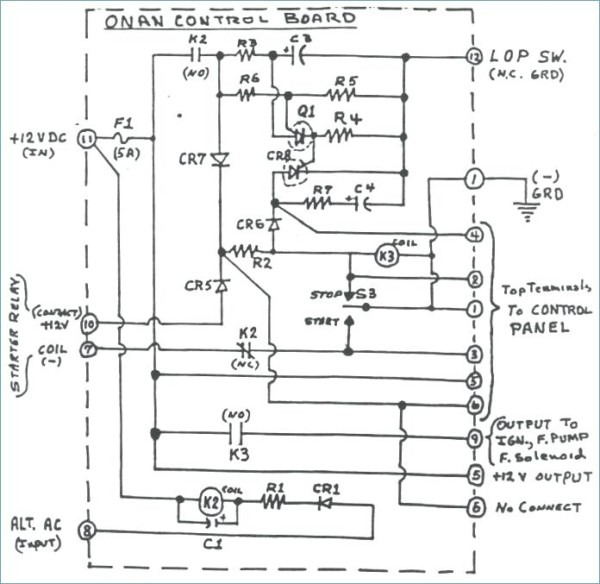 onan 4000 wiring diagram