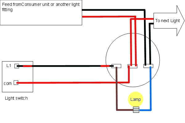 Outside Light Switch Diagram