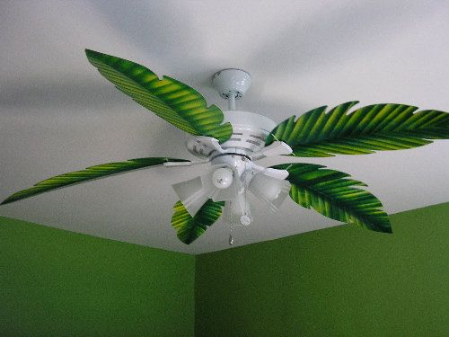 Palm Leaf Ceiling Fan Replacement Blade Fit On By Baypointfans