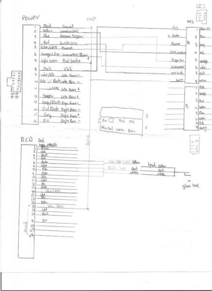 Pioneer Navigation Wiring Diagram