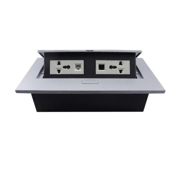 Pop Up Socket 110v 250v Damped Grounded Desktop Socket Damping
