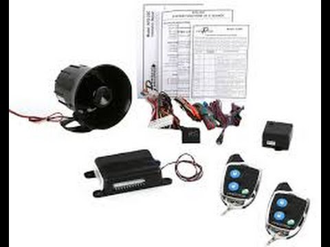 Prestige Aps25c Car Alarm By Audiovox Overview