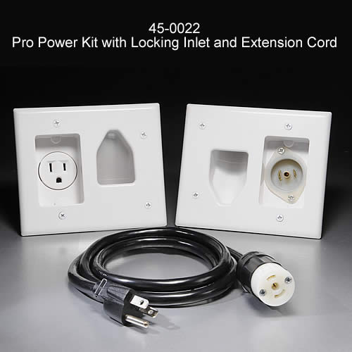 Cable Through Power Outlet