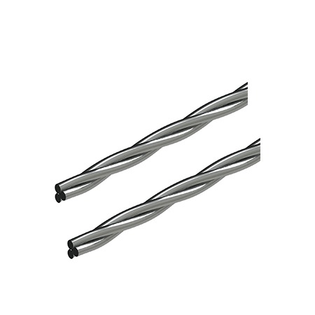 Rightarch Stainless Steel Wire – 3 Strand(twist Flex)lingual