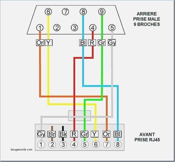 Rj45 Male Wiring Diagram