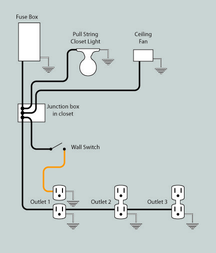 Room Lighting Wiring Diagrams