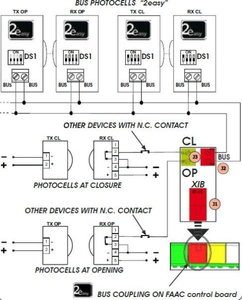 faac photocell wiring diagram 3 Wire Photocell Wiring-Diagram at Faac Photocell Wiring Diagram