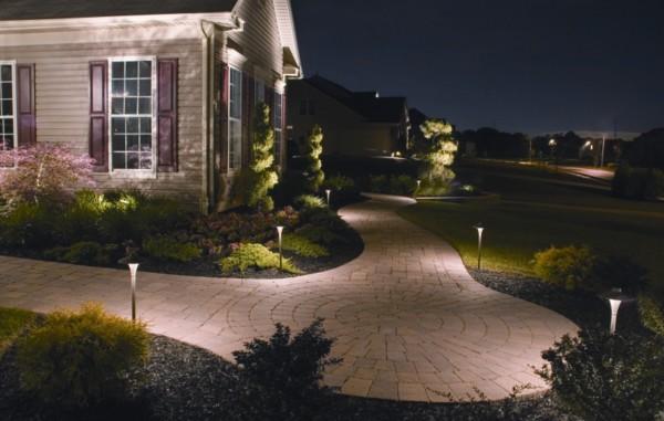 Secret Of Wonderful Landscape Lighting Garden