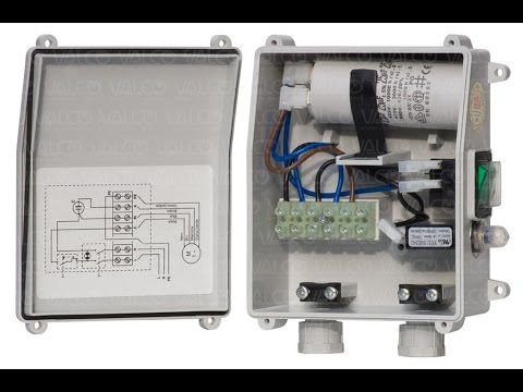 Single Phase Submersible Motor Starter Wiring Diagram Explanation