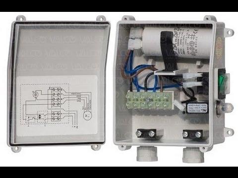 Single Phase Submersible Pump Wiring Diagram