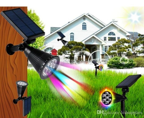 Solar Garden Led Decorative Lights Outdoor Led Lawn Lamp To Plug