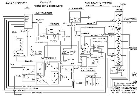 Solar Vehicle Wiring Diagram